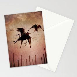 On your fears,  ... swallow them.   Stationery Cards