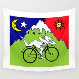 The 1943 Bicycle Lsd Wall Tapestry