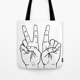 VI hands Tote Bag