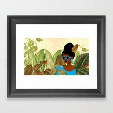 Bayou Girl III Framed Art Print