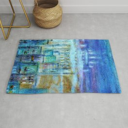 Italy by night Rug