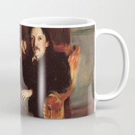 Vintage Painting of Robert Louis Stevenson (1887) Coffee Mug