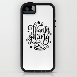 Thankful Style Thanksgiving Cute  Design Gift iPhone Case