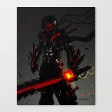 Beat full armor Canvas Print