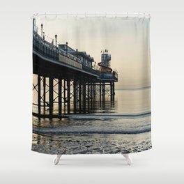 Paignton Pier Shower Curtain