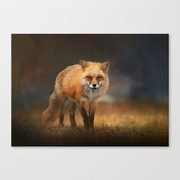 Red Fox Wildlife Photography Canvas Print