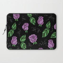 Floral background Laptop Sleeve