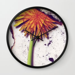 Death Of Beauty Wall Clock