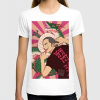 haikyuu T-shirts featuring dragon by JohannaTheMad