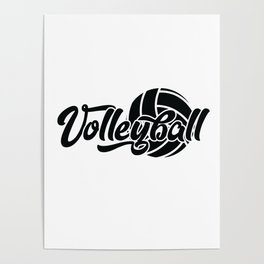 Volleyball Gift Poster