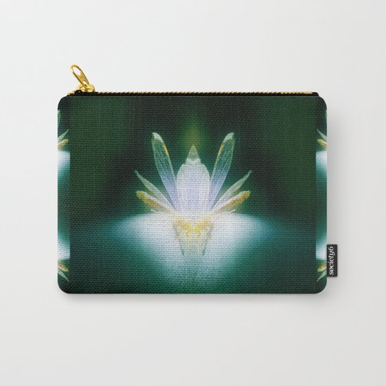DragonFlower blooms in darkness, lighting fears that lurk inside us Carry-All Pouch
