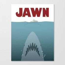 JAWN Canvas Print