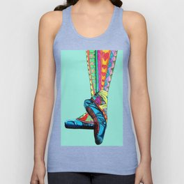 Happy Ballet II Unisex Tank Top