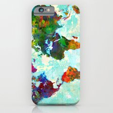 World Map - 1 iPhone 6s Slim Case