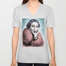 Virginia Woolf Unisex V-Neck