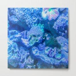 Electric Coral Metal Print