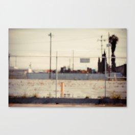 in focus. iv Canvas Print