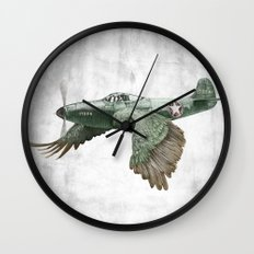 In which it's a bird. It's a plane. (Now in technicolour) Wall Clock