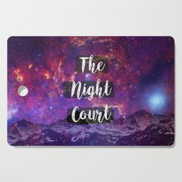 The Night Court Cutting Board