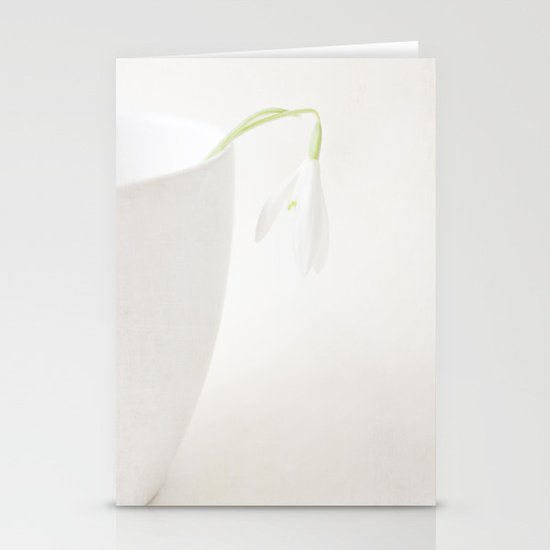 Snowdrop II Stationery Cards