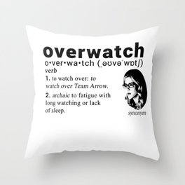 Felicity Smoak - Codename Throw Pillow