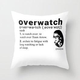 Felicity Smoak - Codename Throw Pillow