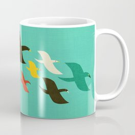 Birds are flying Coffee Mug