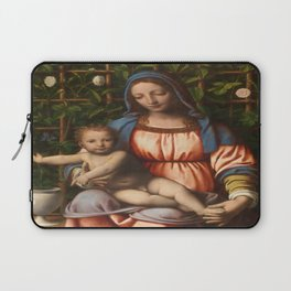 Holy Mother with child Laptop Sleeve