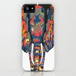 Flashy Elephant iPhone Case