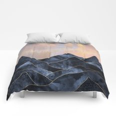 Mountainscape Comforters