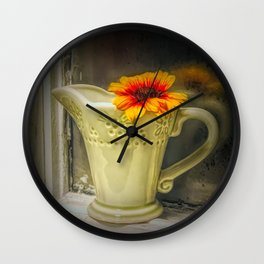 Holding on to yesterday Wall Clock