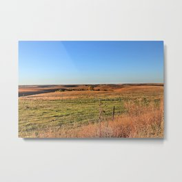 The Flint Hills of Kansas Metal Print