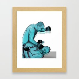 Hendo VS Shogun Framed Art Print