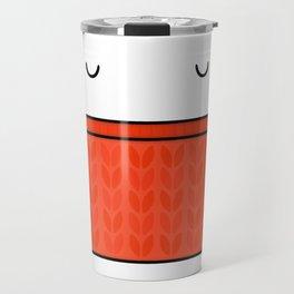 Keep warm, drink tea! Travel Mug