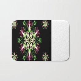 Watermelon Snowflake Bath Mat