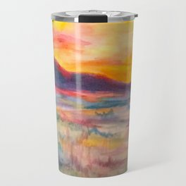 Cache Valley Sunset Travel Mug