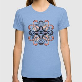 Queen of Hearts mandala T-shirt