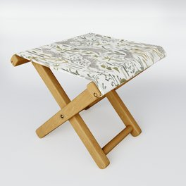 Grey Cheetahs Folding Stool