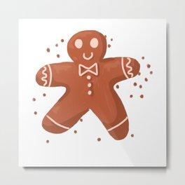 Biscuit Metal Print
