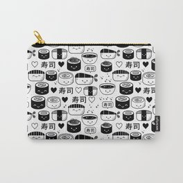 Kawaii Sushi Collage Carry-All Pouch