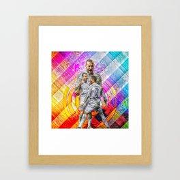 BBC Framed Art Print