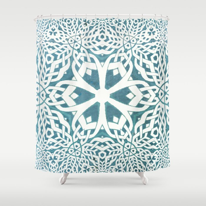 Viking Shower Curtain By Trulyjuel