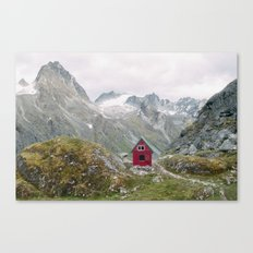 Mint Hut Canvas Print