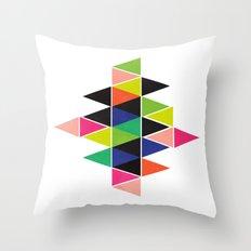 Tri Anagles Throw Pillow