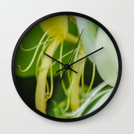The abstract in the nature Wall Clock
