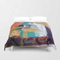 ganesh Duvet Covers featuring Ganesh by Prema Designs