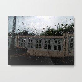 Raining at the Basilica of Higuey, Santo Domingo, DR Metal Print