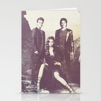 the vampire diaries Stationery Cards featuring The Vampire Diaries TV Series by Nechifor Ionut