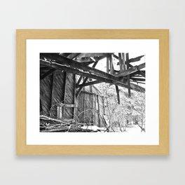Unforgiving Seasons Framed Art Print
