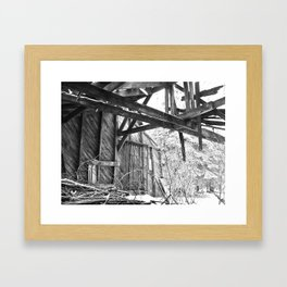 Unforgiving Seasons Framed Art Print